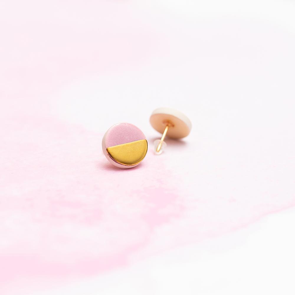 Kolczyki różowe <strong>SIMPLY</strong>